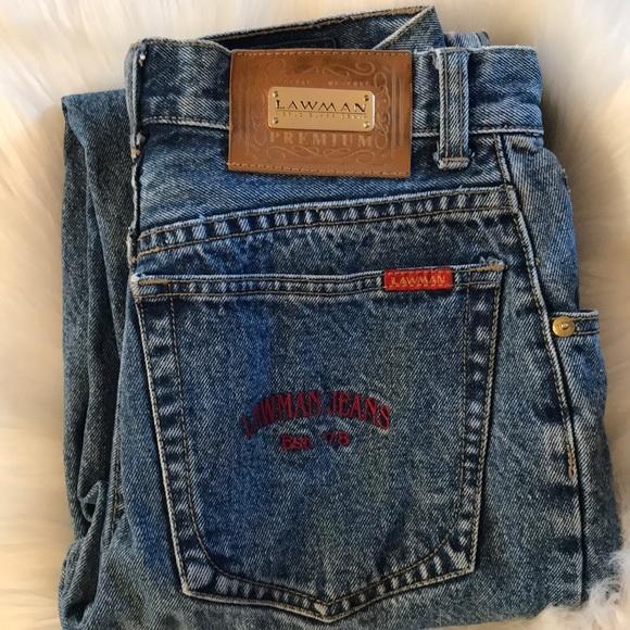 lawman Denim - Vintage Lawman high waisted mom jeans